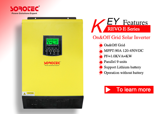 REVO-E Energy Storage Inverter On/Off Gird
