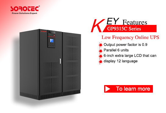 Low Frequency Online UPS GP9315C 10-120KVA