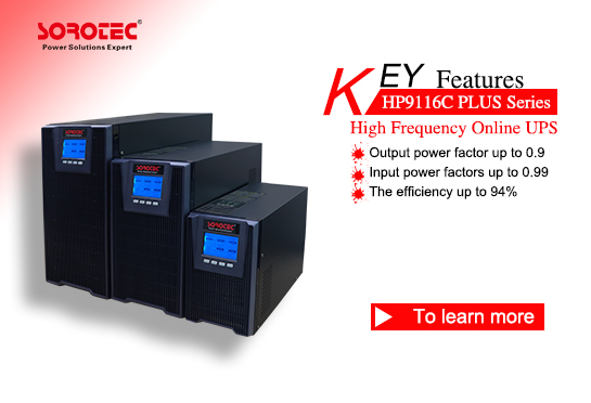 High Frequency Online UPS HP9116C  Plus 6-10KVA