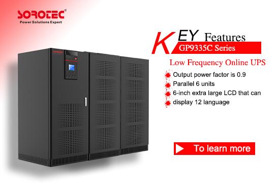 Low Frequency Online UPS GP9335C 10-800KVA