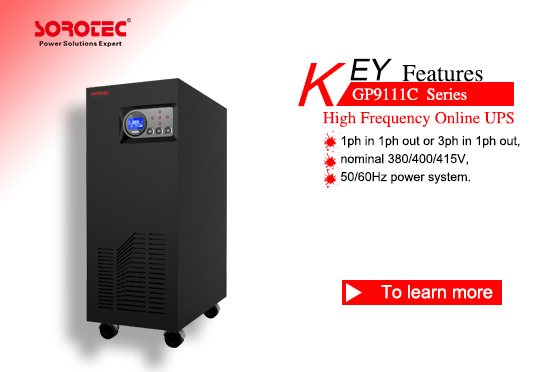 Low Frequency Online UPS GP9111C 6-15KVA