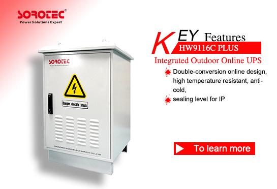 High Frequency Online Outdoor UPS HW9116C Plus 1-10KVA