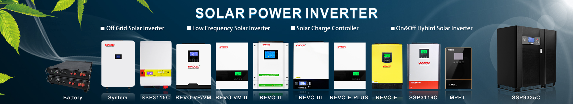 2021 The most popular solar inverter collection