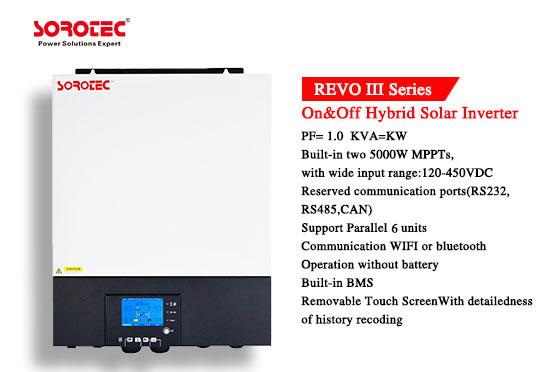 REVO III Series 5.5kw 8kw On/Off Grid Hybrid Solar Inverter