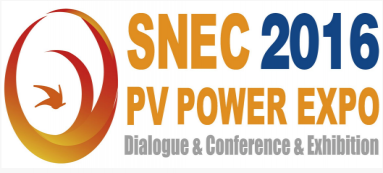 Welcome to visit us at the SNEC PV POWER EXPO 2016