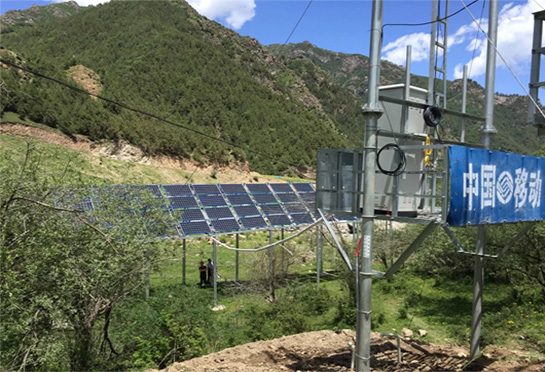 Soro outdoor Integrated UPS/outdoor battery cabinet application remote power grid poor environment.