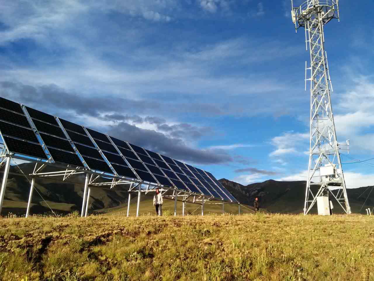 48VDC Telecom Solar Power System Applicated China Tower